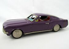 Vtg Japan Tin Litho ATC Asahi Violet FORD MUSTANG FASTBACK Friction Metal Toy