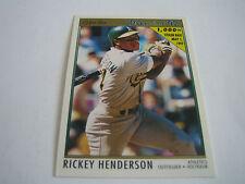1992 O-PEE-CHEE PREMIER BASEBALL RICKEY HENDERSON CARD #147***OAKLAND***