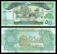Somalilandia - Somaliland  5000 Somaliland 2011 Shillings  Pick 21a  SC = UNC