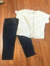 Girl's Light & Comfy Outfits, Size 12, Pre-owned