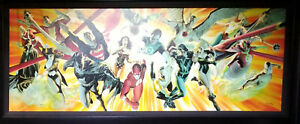 Alex Ross The Perfect Alliance Giclee on Canvas