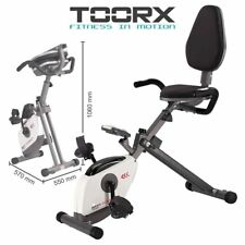 TOORX BRX R COMPACT Cyclette Recumbent magnetica orizzontale richiudibile