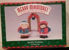 Hallmark Keepsake Merry miniatures A Collection Of Charm bashful mistletoe 1996