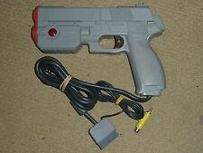 Sony Playstation 1 PS1 Officiel Namco G-détenu 45 Light Gun RARE Orange Tip Blaster