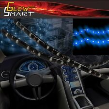 """8"""" Neon Blue LED Strip (2-piece) for Car Boat and Motorcycles & Parties"""