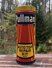 RARE Vintage PULLMAN Auto Car Repair Kit No.2 Gas Station Gas Oil Metal Tin Can