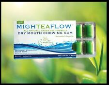 (2 Pack) Mighteaflow Dry Mouth Gum, Speariment, 8x10ct 858168003015