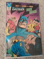BEST OF BRAVE AND THE BOLD #6 BATMAN & TEEN TITANS  #83 REPRINT Neal Adams [DC]