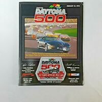 NASCAR 38th Annual Daytona 500 1996 Program with Official Race Lineup