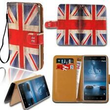 Leather Smart Stand Wallet Card Cover Case For Various Nokia Asha SmartPhones