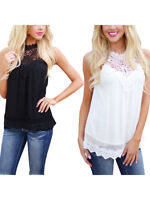 Fashion Women Summer Vest Top Sleeveless Blouse Solid Casual  Tank Tops T-Shirt