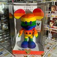 Disney Year of The Mouse JUNE Collector Plush - Rainbow Mickey Limited - IN HAND