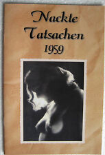Magazin Akt Fotografie Foto Busen Männermagazin Akt & Kunst 1959 TOP Zustand