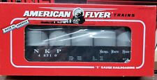American Flyer 6-48510 Nickel Plate Road Gondola With Canisters