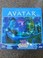 Disney Avatar 3D Puzzle All Life is Connected With Glasses 500 pc Puzzle New