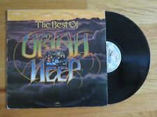 MICK BOX of URIAH HEEP signed BEST OF 1977 Album / Record COA EASY LIVIN