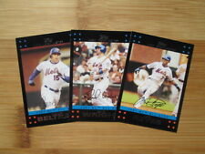2007 Topps Update Baseball New York Mets TEAM SET
