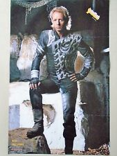 "Judas Priest / Rob Halford Orig.Vintage poster ""1986"" Used cond. 22x34"" Rare!"