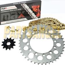 Red O-Ring Drive Chain /& Sprockets Kit Fits HONDA TRX200 TRX200D Fourtrax 90-97