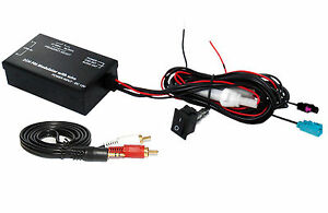 BMW AUX iPod Fakra Wired FM Modulator transmitter FMMOD4 iPhone in MP3 Connects2