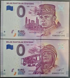 czechoslovakia 0 Euro Stefanik