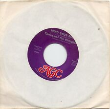 CARLOS & THE RIVINGTONS    MIND YOUR MAN/ I LOST THE LOVE  US AGC  NORTHERN SOUL