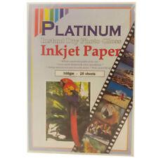 Carta fotografica A4 (210 mm x 297 mm) 160 gsm per stampanti
