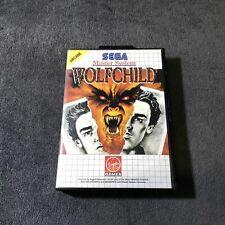 SEGA Master System Wolfchild EUR Très Bon état