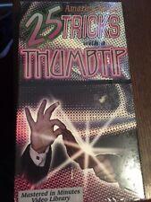 Shop~Vhs Tape Morris 25 Amazing Magic Tricks Thumbtip Video Tape