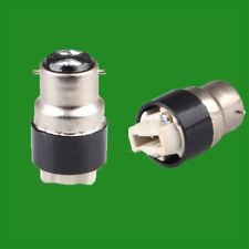 Bayonet, BC, B22 To G9 Halogen or LED Light Bulb Adaptor Lamp Socket Converter