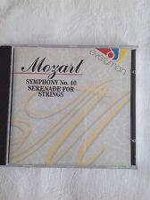 Mozart symphony no.40 serenade for strings cd