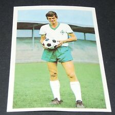 O. BJÖRNMOSE DANMARK WERDER BREMEN FUSSBALL 1966 1967 FOOTBALL BUNDESLIGA PANINI