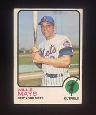 1973 TOPPS #305 WILLIE MAYS HOF NEW YORK METS