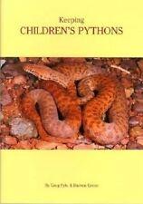 Keeping Children's Pythons by Greg Fyfe.