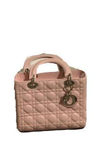 DIOR BAG Lady Dior Medium Used Excellent Condition