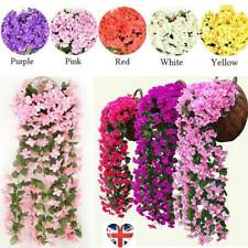 Artifical Hanging Fake Flowers Ivy Vine Garland Plant Wedding Home Decoration ge