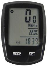 Ciclo bicicleta 22 función inalámbrica Speedo Odómetro Velocímetro Computadora + Luz