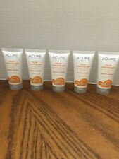 5 Acure Facial Cleansing Gel Superfruit/Chloella Combo To Oily Skin 1oz ea NEW S