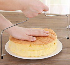 Cake Cutter Bread Wire Slicer Cutting Leveller Decorating Utensil Baking Muffin