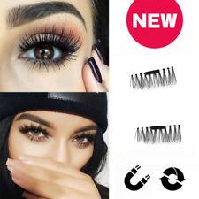 4pcs/Set Hot Magnetic 3D False Eyelashes Women Natural Fake Eye Lashes Extension