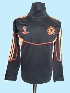 Chelsea Champions League Football Adidas Long Sleeve Soccer Training Sweatshirt