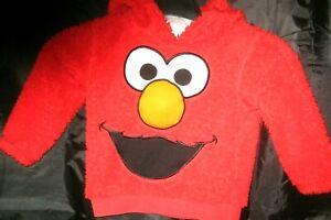 ELMO Sesame Street  Stretchy Childs Fleece hoodie One - One & half years. New