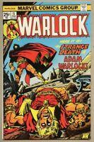 Warlock #11-1976 fn 6.0 Power Of Warlock - Jim Starlin Thanos