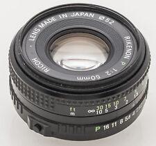 Ricoh Rikenon 50mm 50 mm 1:2 2 -- Pentax PK