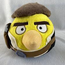 "Angry Birds Star Wars Yellow Bird Han Solo Plush 8"" Stuffed Animal"