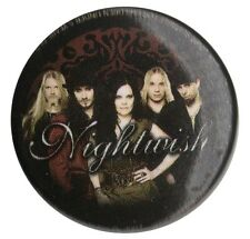 Nightwish Band Photo logo 1 inch button pin badge Official