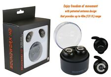 Soundworx Audifonos Inalambricos Bluetooth 4.1 con microfono y cargador portable