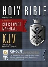 NEW KJV Marshall Complete Bible on MP3 by Christopher Marshall