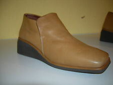 HISPANITAS Ultra Flex Keilabsatz Schuhe Leder Gummizug Spain Gr.36 TOP