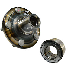 For TOYOTA AVENSIS 1.6 1.8 VVTi 2.0 D4D FRONT AXLE WHEEL HUB FLANGE & BEARING